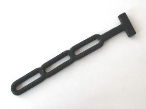 trestege stropp gummisträckare till kapell